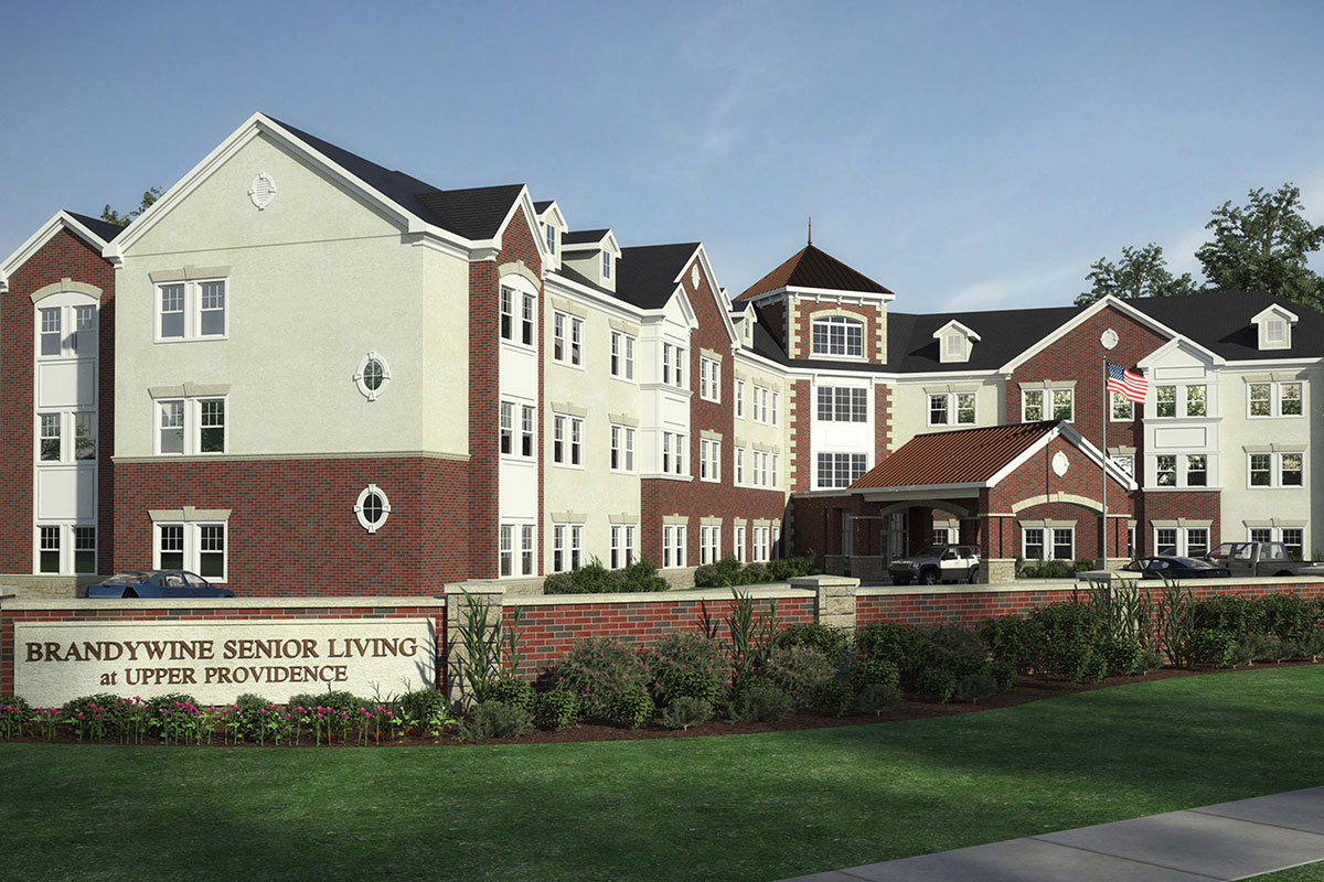 Brandywine Living at Upper Providence building